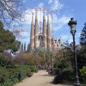 Sagrada Familia, Barcelona, Katalonien