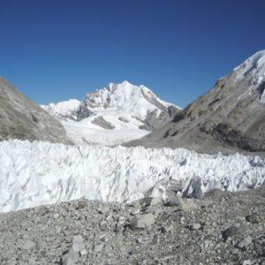 Schneebedeckte Berge, Nepal