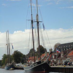 Segelschiff im Kieler Hafen, Kiel, Schleswig-Holstein