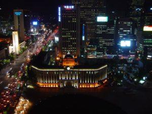 Seoul Plaza, Seoul, Südkorea