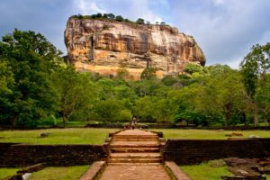 Sigiriya Felsen auf Sri Lanka