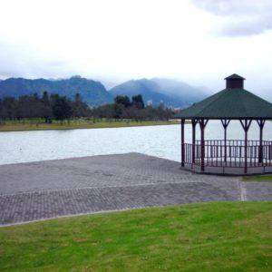 Simon Bolivar Park, Bogota, Kolumbien