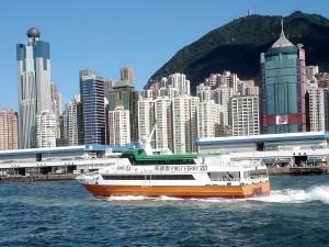 Skyline, Hongkong, Asien