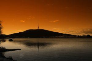 Sonnenuntergang, Canberra, Australian Capital Territory