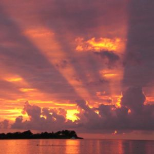Sonnenuntergang, Jamaika