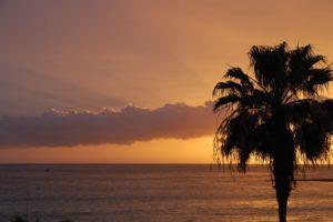 Sonnenuntergang, Kanaren, Spanien