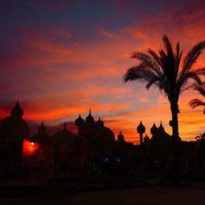 Sonnenuntergang, Sharm-el-Sheikh, Ägypten