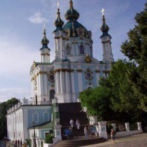 St. Andrew Cathedral, Kiew, Ukraine