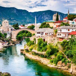 Die Brücke von Mostar (Stari Most)