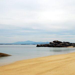 Strand, Galicien, Spanien