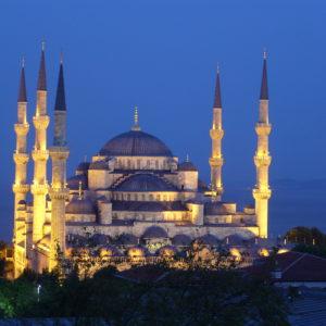 Sultanahmet Moschee, Istanbul, Türkei