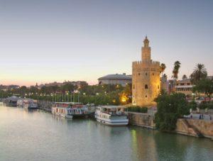 Torre del Oro, Sevilla, Andalusien