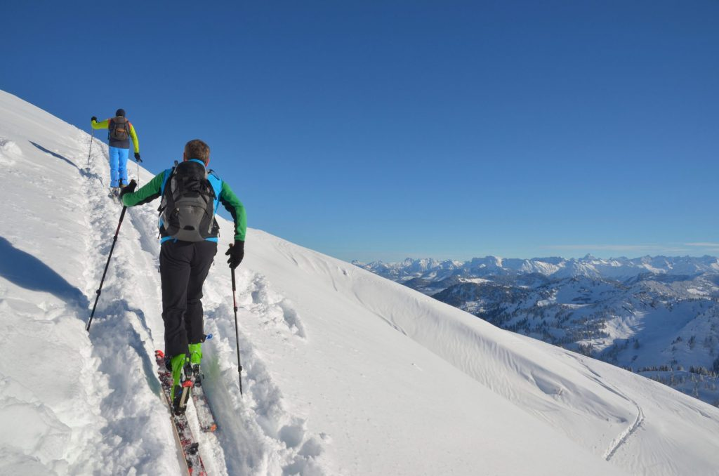 Skitourengehen im Ammergebirge