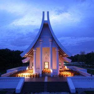 Wat Phra Dhammakaya, Pathum Thani, Thailand