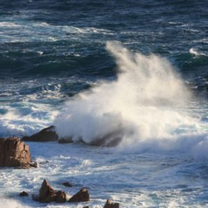 Wellen vor Philipp Island, Victoria