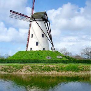 Windmühle, Holland, Niederlande