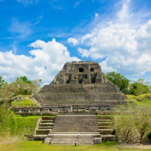 Xunantunich Maya Ruine